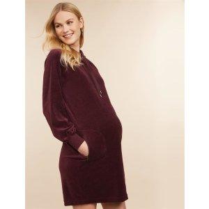 Jessica SimpsonHooded Maternity Dress