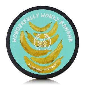 The Body Shop限量版 香蕉身体黄油 200ml
