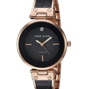 $32.94Anne Klein Women's Diamond-Accented Dial Bangle Watch
