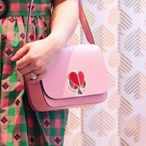 低至4折Kate Spade 精选春夏包包美鞋特卖,$106.8收WOC链条包