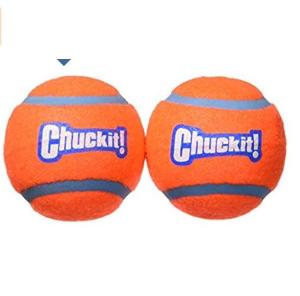 $2.98(原价$6.11)Chuckit 中号宠物网球 2-pack 汪星人的最爱