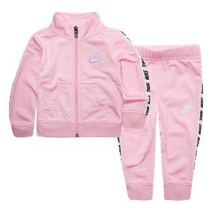 553ed3f1005d9 kids  home  clothes. kids. NikeBaby Girl Nike Track Jacket   Pants Set
