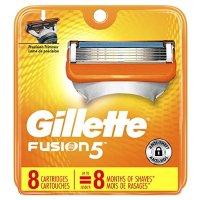 Gillette Fusion5 男士替换剃须刀头8个