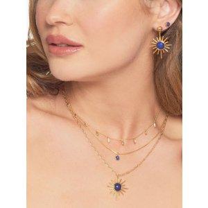 云曦阳光蓝宝石项链