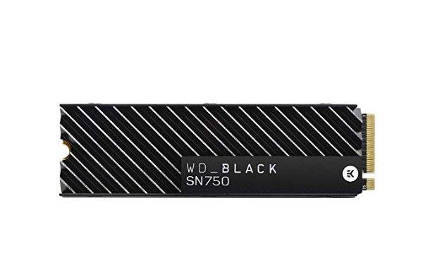 WD Black SN750 1TB NVMe 黑盘 带EK散热