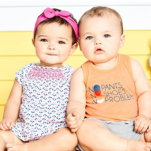 Up to 70% Off Baby Boom Entire Site @ Carter's
