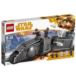 $59(原价$109.99)史低价:LEGO 乐高 Star Wars 星战系列 75217 汉·索罗勇闯帝国列车