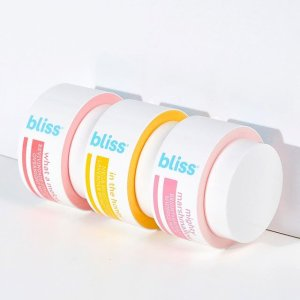 买三送一Bliss官网 护肤美体产品促销