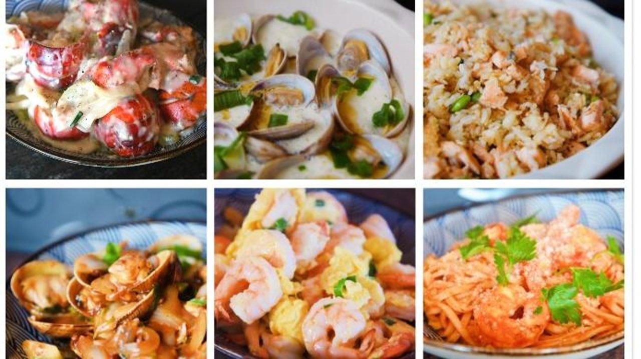 在这个最适合宅在家里吃海鲜的季节,一起大快朵颐吧