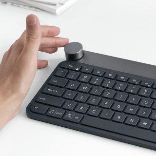 $179.99 设计师绝配Logitech Craft 无线键盘 带控制旋钮 支持Adobe软件