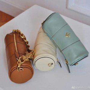 无门槛8.5折!吴宣仪同款£246Manu Atelier 箭头包新品大促 收小众经典箭头元素、圆筒包