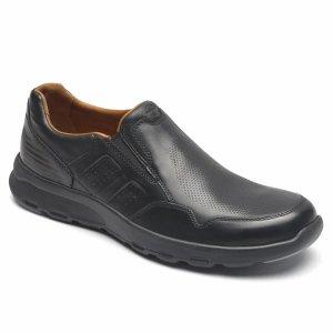Rockport一脚蹬皮鞋