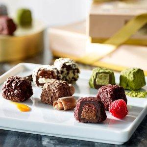 满额送松露巧克力9颗装礼盒Godiva 精选巧克力节日礼盒限时优惠