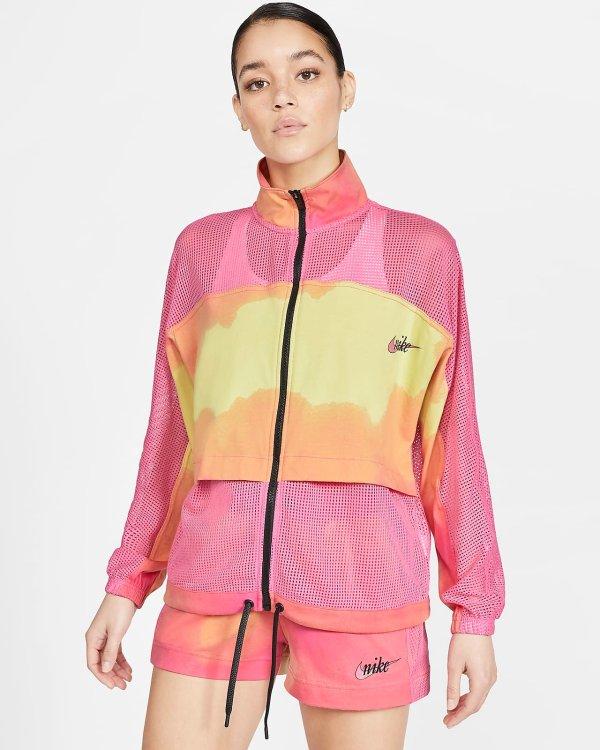 Sportswear 女款网纱夹克