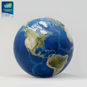 EARTH - Augmented Reality 3D-printed Earth Model | AstroReality