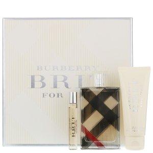 BurberryBrit for Her 香水礼盒 100ml Gift Set