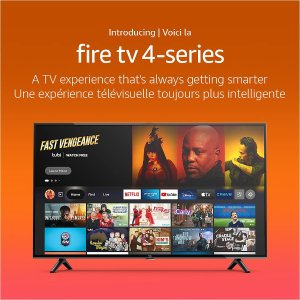 """10月27日发售 43""""低至$439.99新品预告:Amazon Fire TV 4K UHD 自家品牌智能电视"""