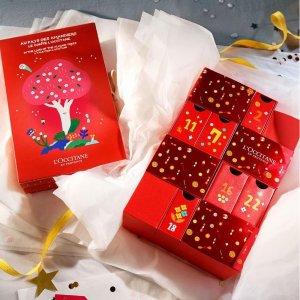 正价8折L'Occitane Premium 圣诞倒数日历 豪华大礼包