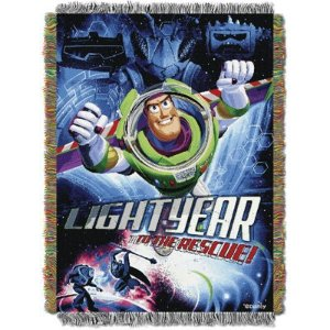 DisneyDisney Toy Story Buzz Lightyear Tapestry Throw