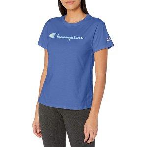 $18.59Champion Classic logoT恤 巨显白丹宁蓝 仅XL码
