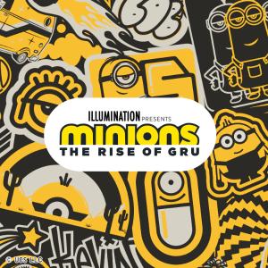 已发售 一律$14.9Uniqlo X Minions 合作新款儿童T恤 小黄人的夏天