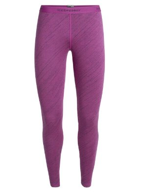 Womens Merino 250 Vertex Leggings Snow Storm Thermal Base Layer| icebreaker
