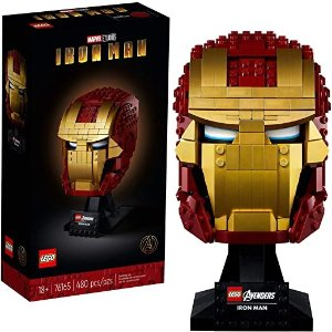 Lego® 钢铁侠头盔 76165 Building Kit