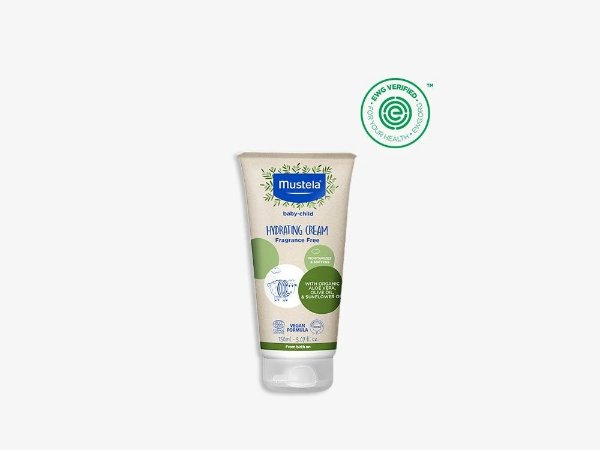 Organic Hydrating Cream with Olive Oil and Aloe