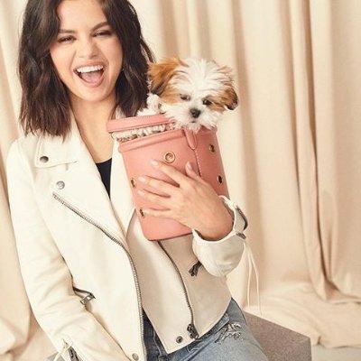 低至7折 收Selena同款水桶包独家:Coach 时尚大赏福利 鞋包、服饰限时促销