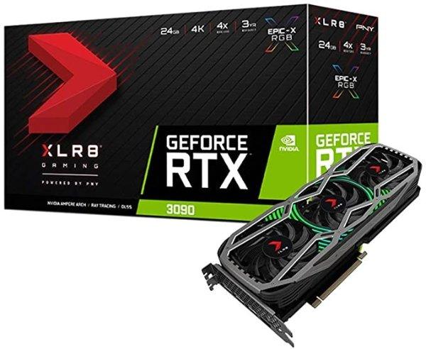 GeForce RTX 3090 24GB XLR8 Gaming Epic-X RGB