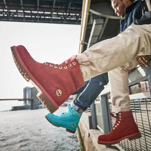 低至5折+额外7.5折 $60+收小粉折扣升级:Timberland  官网年终大促 精选美鞋热卖 酷酷大黄靴