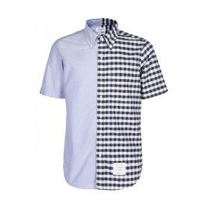 Thom Browne拼接衬衫