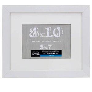 Studio DecorWhite Belmont 木质相框白色 3尺寸可选