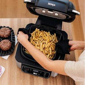 $154.99包邮(原价$199.98)限今天:Ninja Foodi 四合一多功能4夸脱空气炸锅、烤肉架