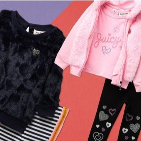 2折起Juicy Couture 女童服饰促销 粉嫩甜心人人爱