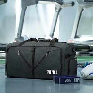 $16.19SUNPOW 65L超大号可折叠旅行袋