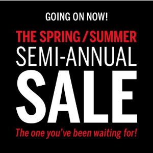 Going On Now!Semi-annual Sale @Victoria's Secret