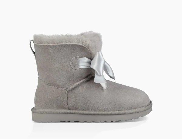 Gita蝴蝶结雪地靴