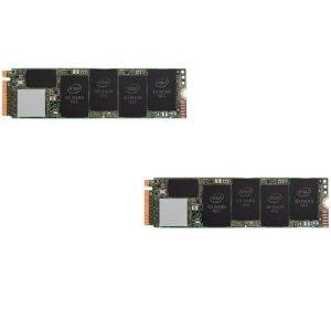 Intel 660p M.2 2280 1TB 3D QLC 固态硬盘 x2