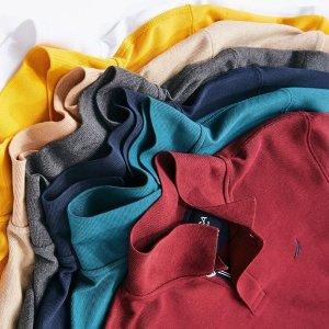 低至$16.99Nautica  经典Polo衫热卖  多色可选超百搭