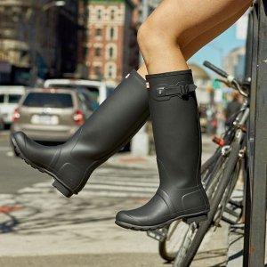 额外9折Hunter官网 新款上线 收颜值爆表雨衣、雨靴