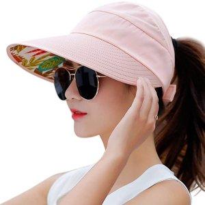 低至$7.99HINDAWI 女士宽边防紫外线遮阳帽,多色款