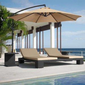 $48Best Choice 10ft Offset Hanging Patio Umbrella