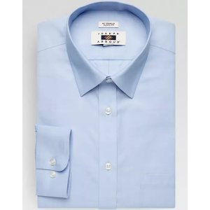 3 for $99.99Joseph Abboud Blue Classic Fit Dress Shirt - Men's Classic Fit | Men's Wearhouse