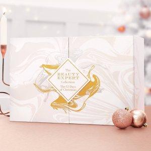 变相1.4折 £70收圣诞日历(价值£480+)史低价:Beauty Expert 全正装圣诞日历闪现好价 含Evelom、Elemis