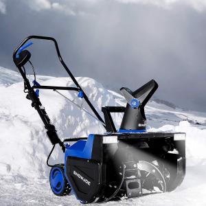 $238(原价$465)史低价:Snow Joe SJ627E 22英寸15安培电动铲雪机  预防铲后抑郁症