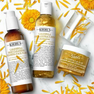 Last Day: Dealmoon Exclusive! Receive 6 deluxe sampleswith $85+ purchase Calendula Herbal Extract Alcohol-Free Toner  @ Kiehl's