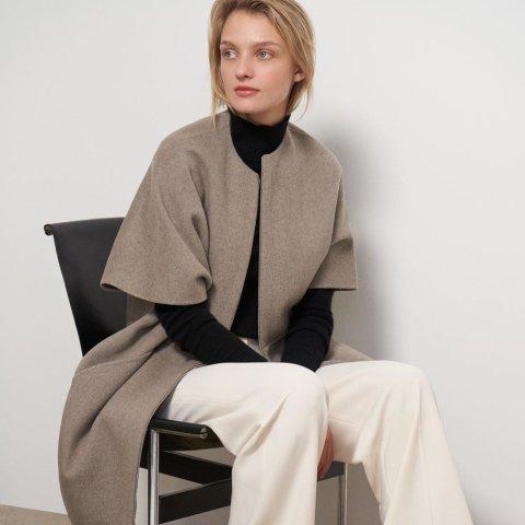 3折起 £70收褶皱连衣裙Theory 全场美衣罕见超低价 质感极简风席卷而来