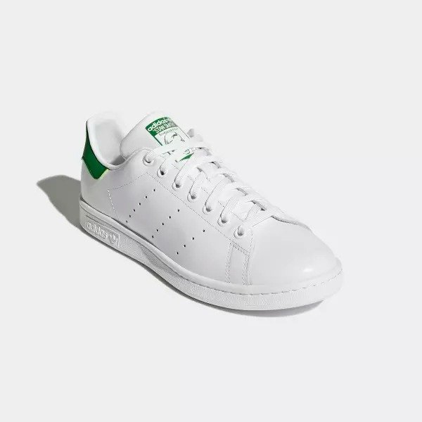 Stan Smith 男士绿尾运动鞋