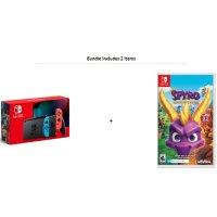 续航增强版 Nintendo Switch + 小龙斯派罗三部曲